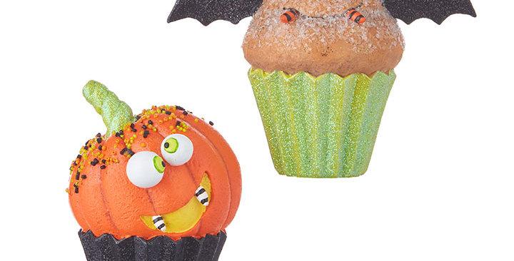 "Halloween Cupcake 5.25"""