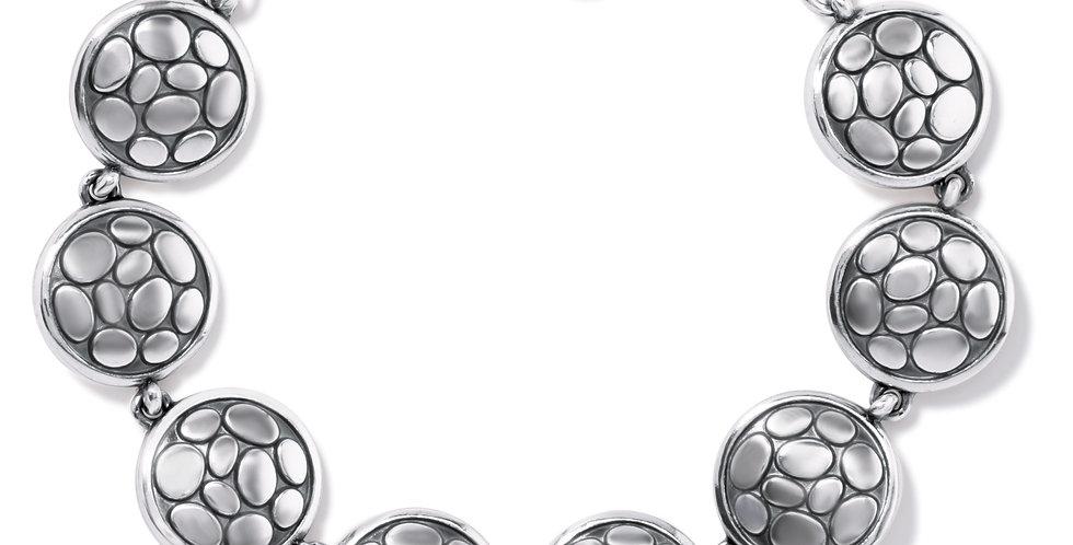 Pebble Round Link Bracelet