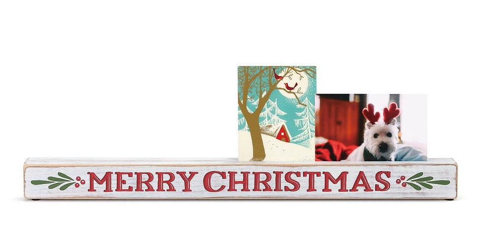 Merry Christmas Photo Holder