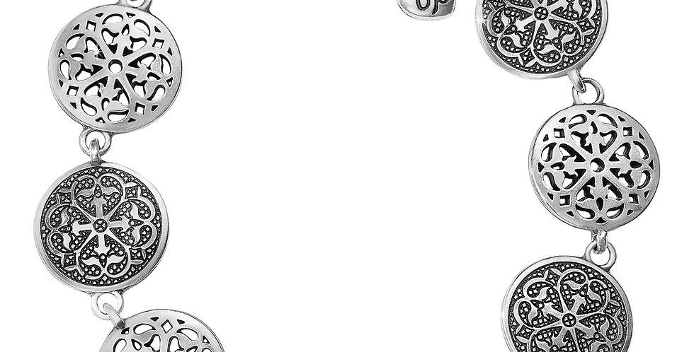 Ferrara Medallion Link Bracelet