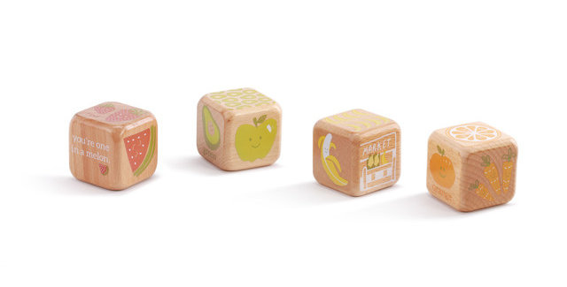 Food and Color Barnyard Blocks