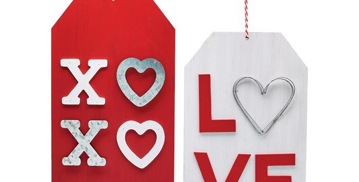 Valentine's Wall Tag