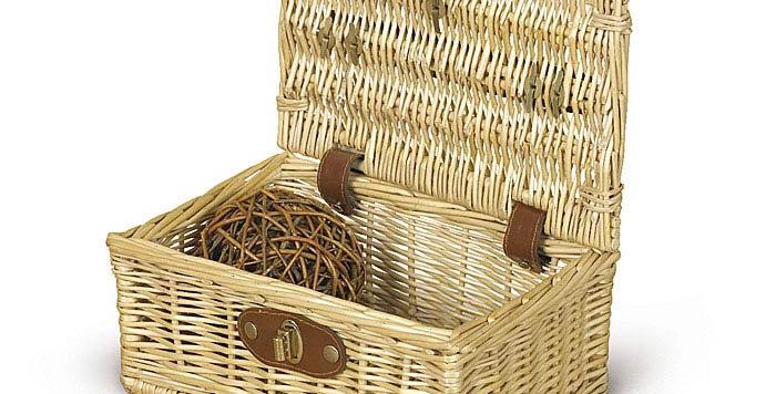 Small Picinic Basket Natural