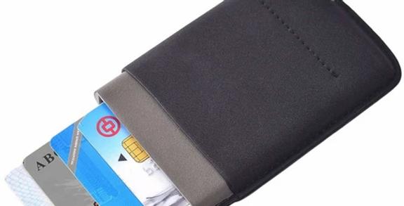 Card Blocker RFID Wallet Black