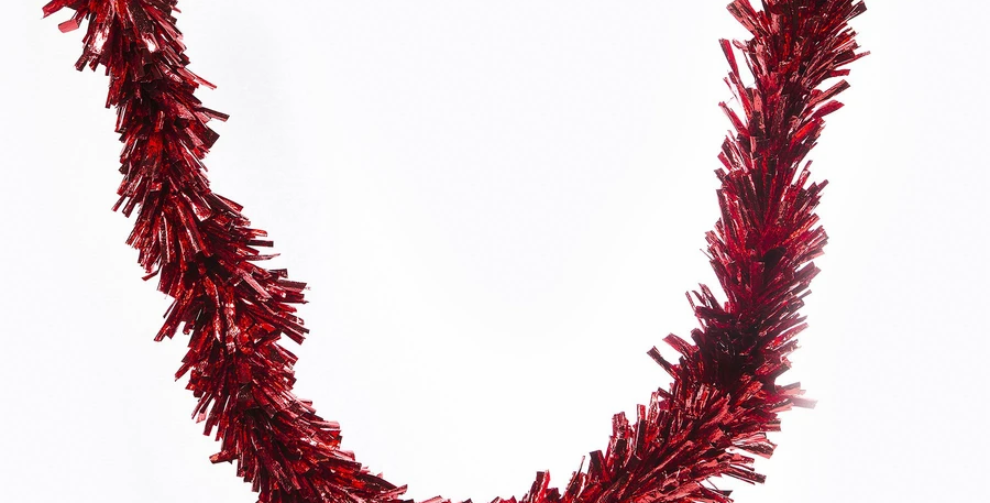 Red 9ftParty Garland