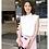 Thumbnail: Embroidered Face Washbag Pink