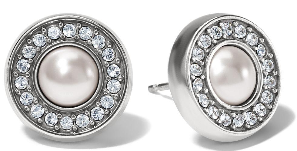 Meridian Pearl Post Earrings