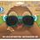 Thumbnail: Dexter Kids Turqoise Soft Matte Sunglasses