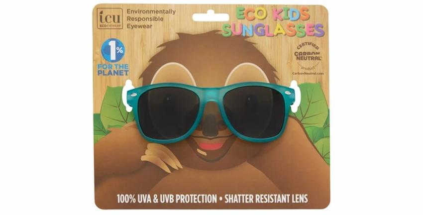 Dexter Kids Turqoise Soft Matte Sunglasses