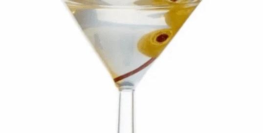 """5.5"""" Martini Ornament"""