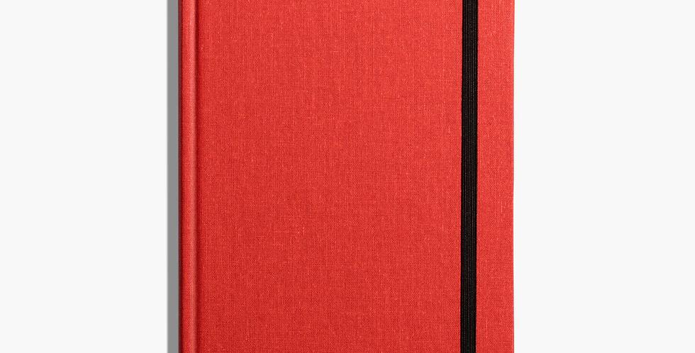 Shinola Medium Hard Linen Journal: Ablaze