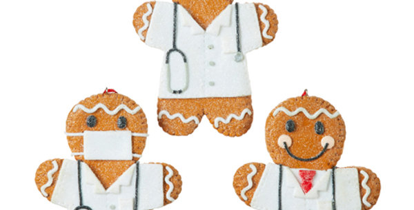 Healthcare Heros Gingerbread Ornaments