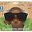 Thumbnail: Dexter Kids Black White Checked Classic Sunglasses