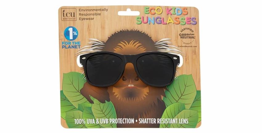 Dexter Kids Black White Checked Classic Sunglasses