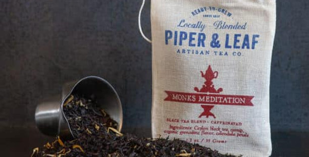 Monks Meditation Muslin Bag of Loose Leaf Tea – 15 Servings