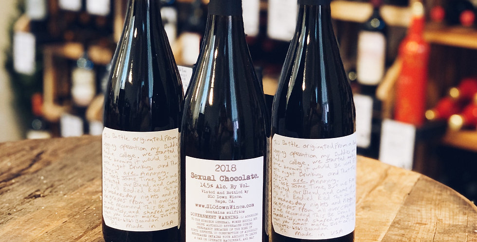 Sexual Chocolate Red Blend