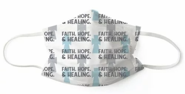 Faith, Hope & Healing Face Mask (Pack of 7)