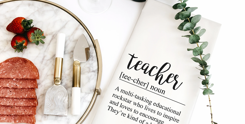 Teacher Definition Towel