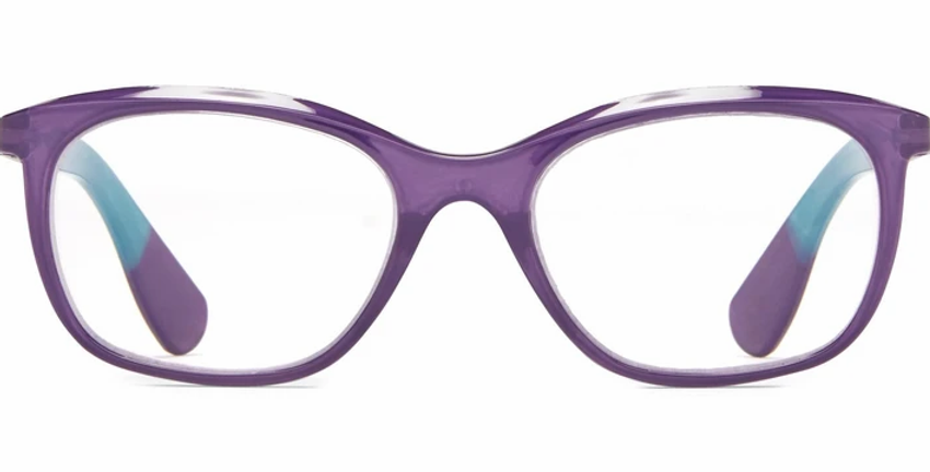 Oviedo: +1.5 Purple Pattern Lifted Oval Readers