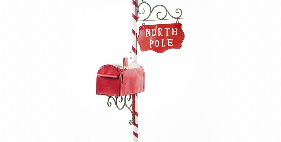North Pole Santa Mailbox