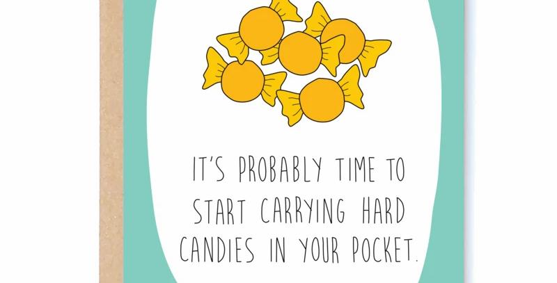 Hard Candies Card