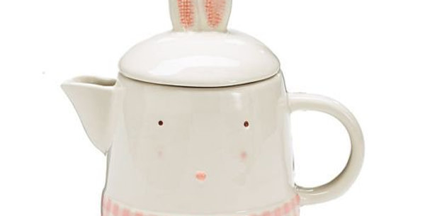 Springtime Bunny Teapot