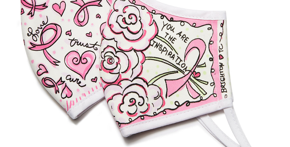 Power of Pink Face Mask(2pk)