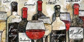 Cocktail Napkin Wine Soiree