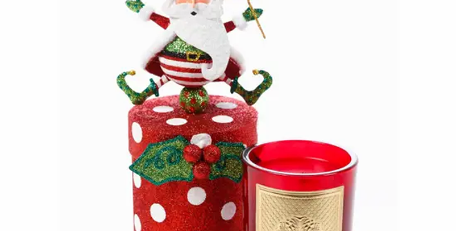 Jolly St Nick Gift Box Candle