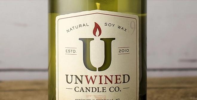 Vanilla Birch Signature Series - Wine Bottle Candle