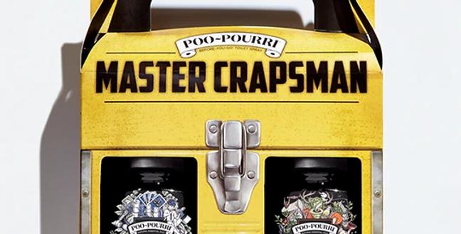 Master Crapsman Poo-pourri 2 oz 2 pack