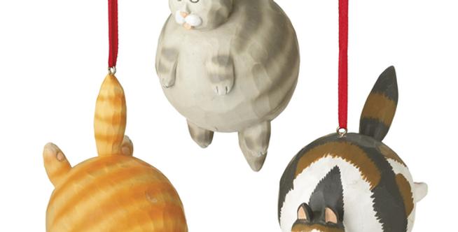 Bubble Cat Ornament