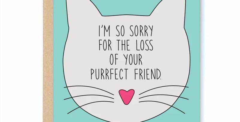 Purrfect Friend Card