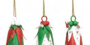 Aged Hanging Christmas Bell