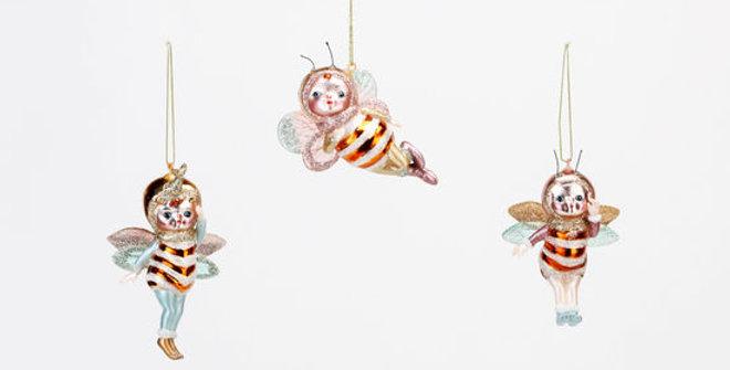 Bee Cupies Ornament