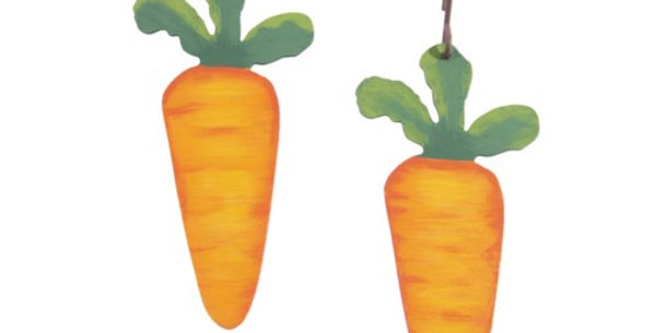 Carrot Garland Charms (Set of 2)