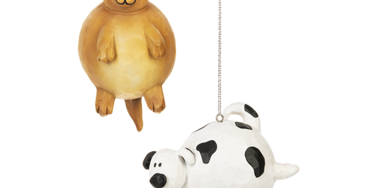 Bubble Dog Ornaments