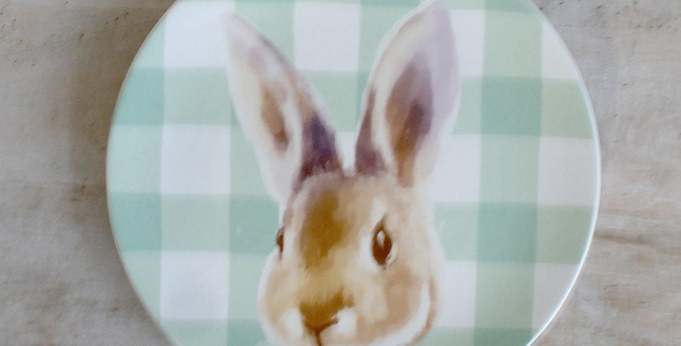 Milford Bunny Salad Plate