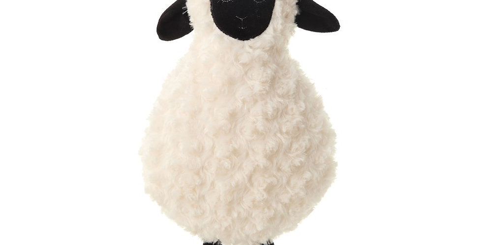 Plush Sheep with Crown