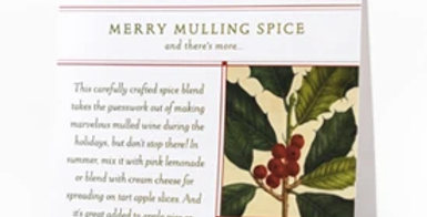 Merry Mulling Spice