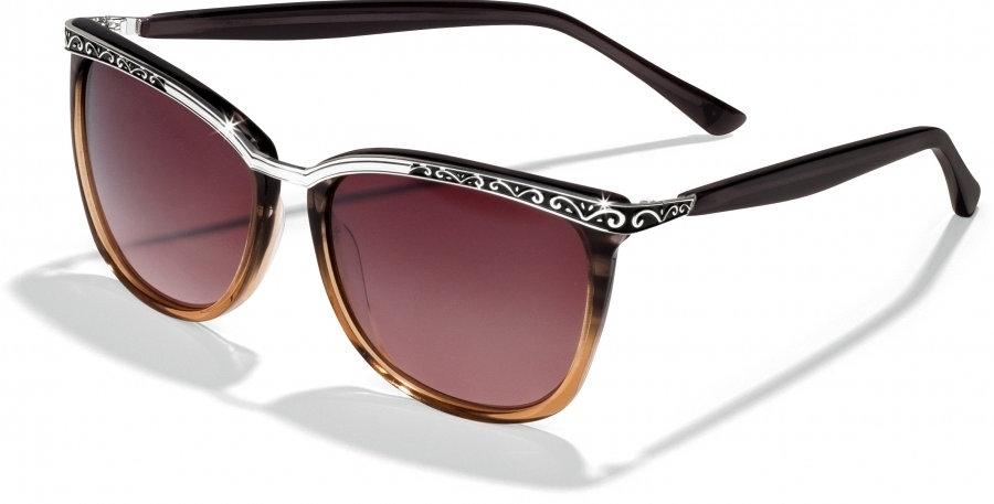 La Scala Brown Fade Sunglasses