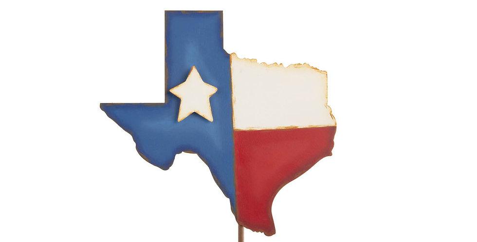 Small Texas-Shaped Flag