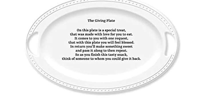 Blessings Giving Platter