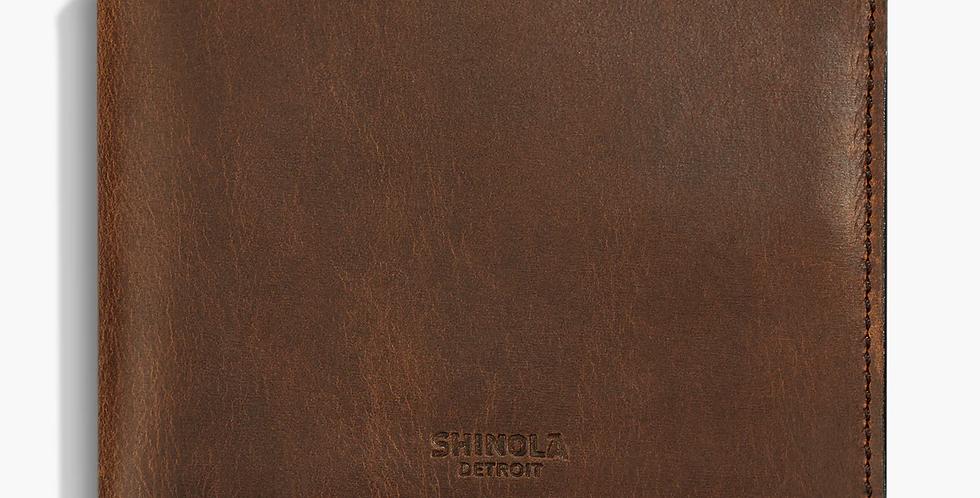 Slim Bi-fold Wallet Navigator Leather