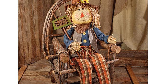 """Giant Fall Scarecrow 63"""""""