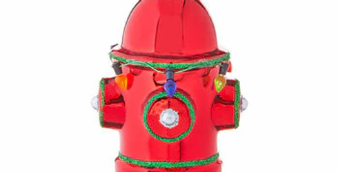 "4.4"" Fire Hydrant Ornament"