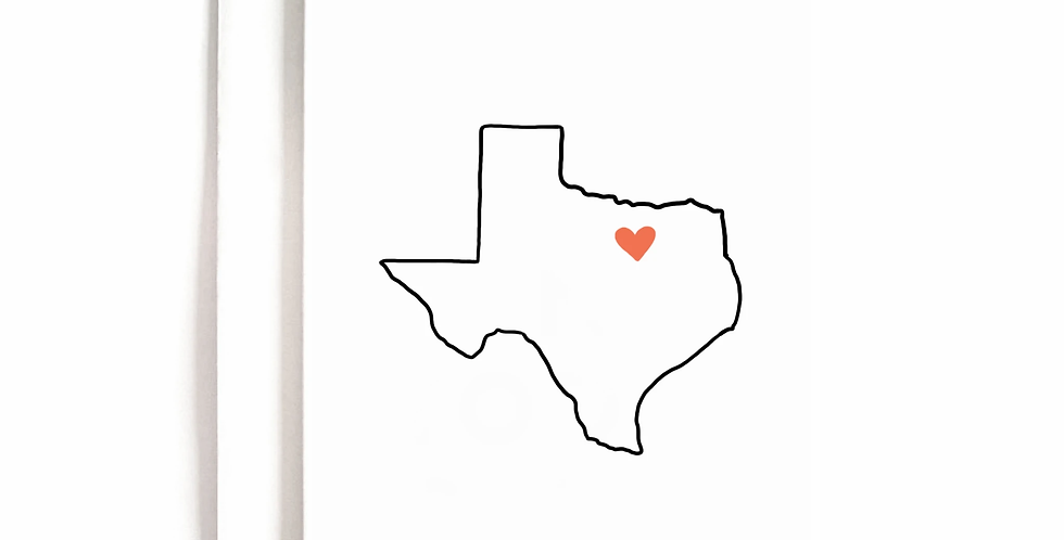 Heart of Texas Greeting Card