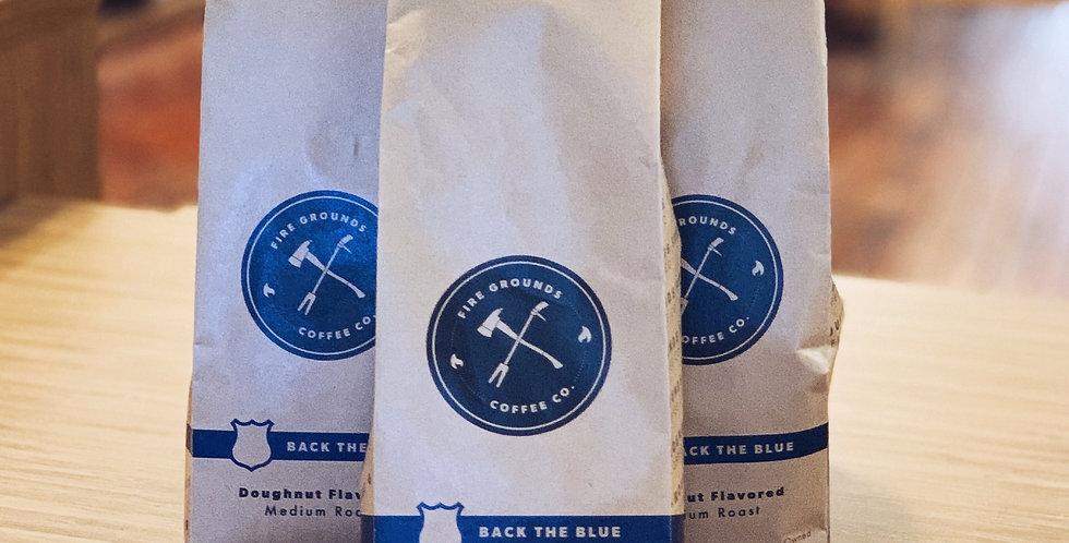 Back the Blue Doughnut Flavored Medium Roast