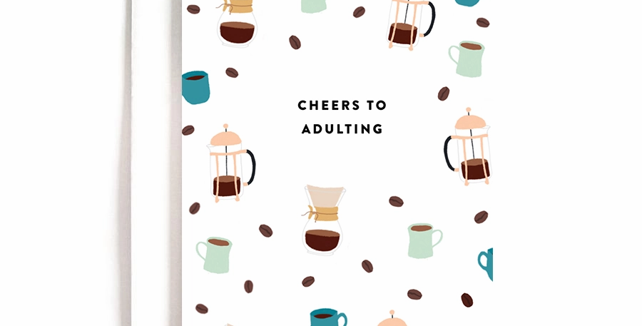 Cheers to Adulting Card