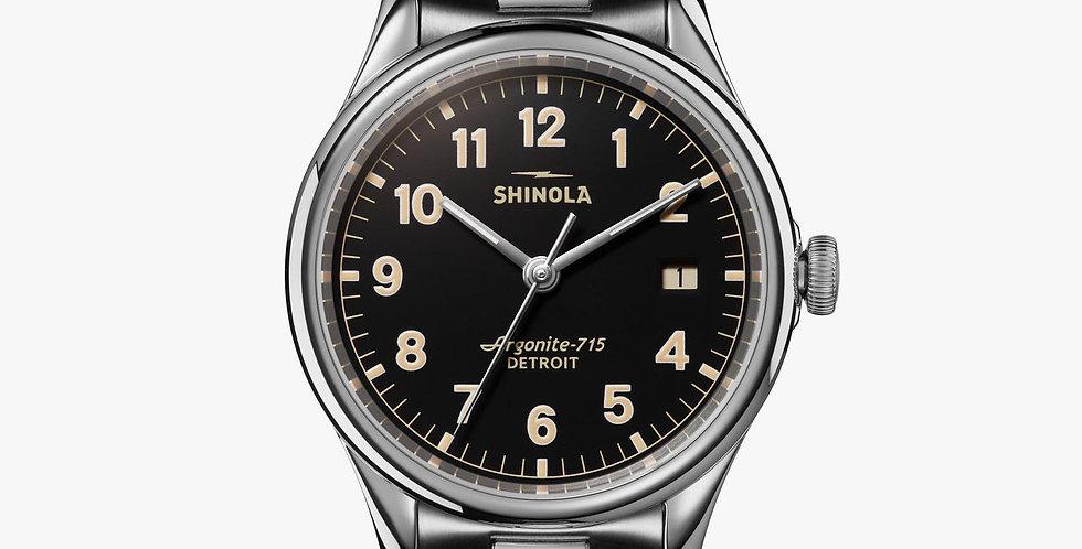 Shinola the Vinton Black